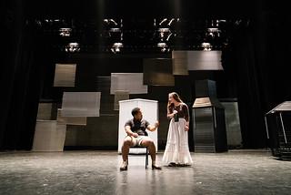 """Twelfth Night"" rehearsal, November 11, 2015."