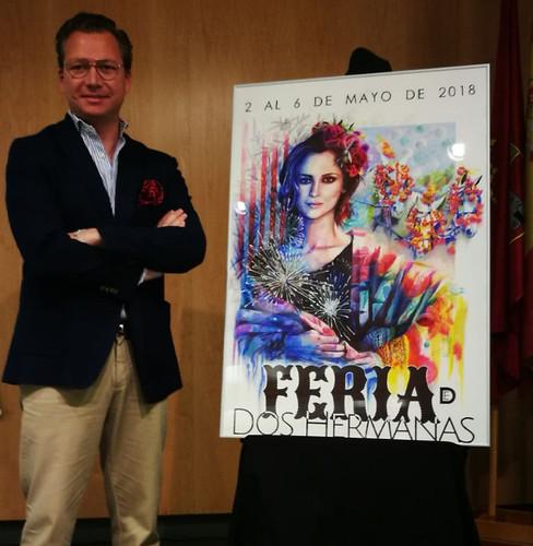 Juan Miguel Martín Mena, autor cartel de Feria de Mayo