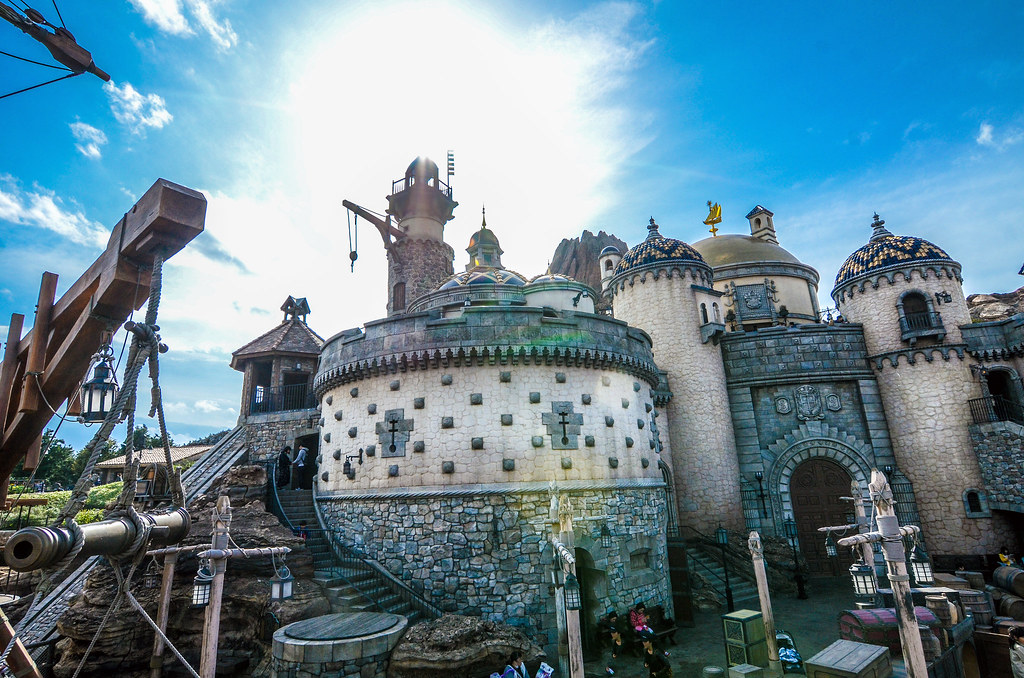 Castle from ship Fortress Explorations TDS