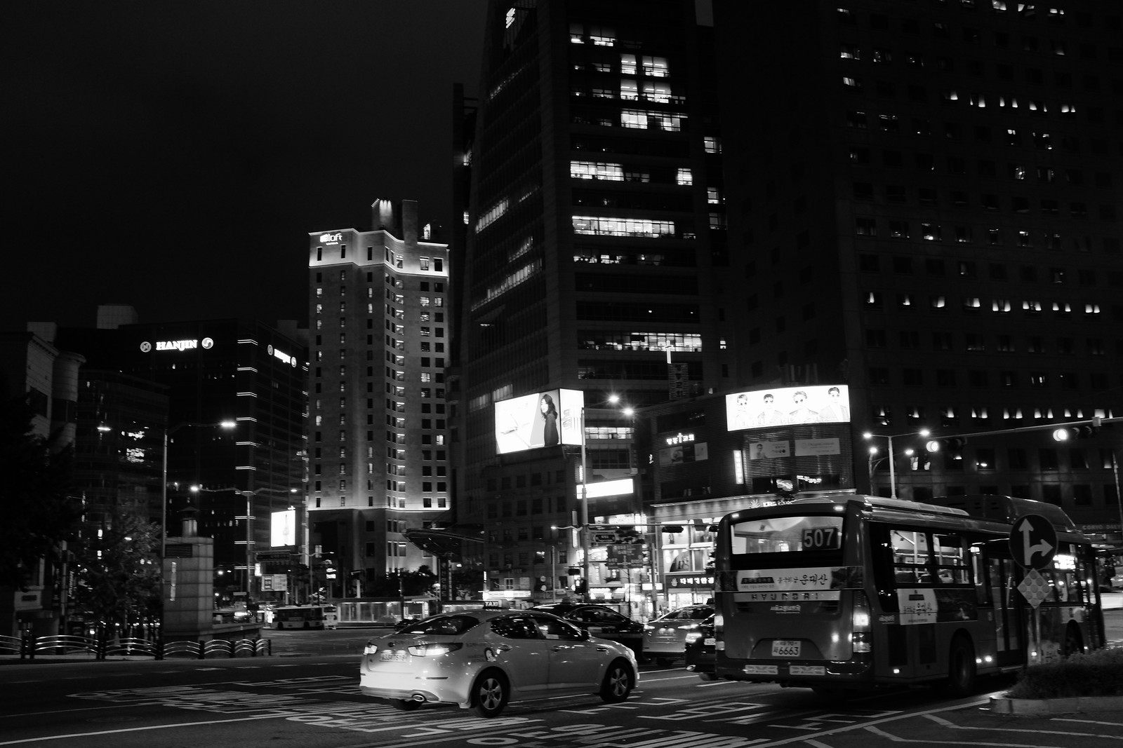 Seoul night photo 2017