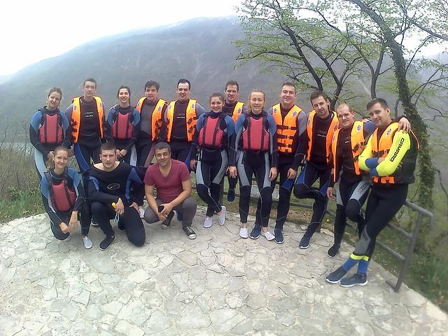 Rafting na rijeci Neretvi