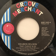 REUBEN WILSON:THE CISCO KID(LABEL SIDE-A)