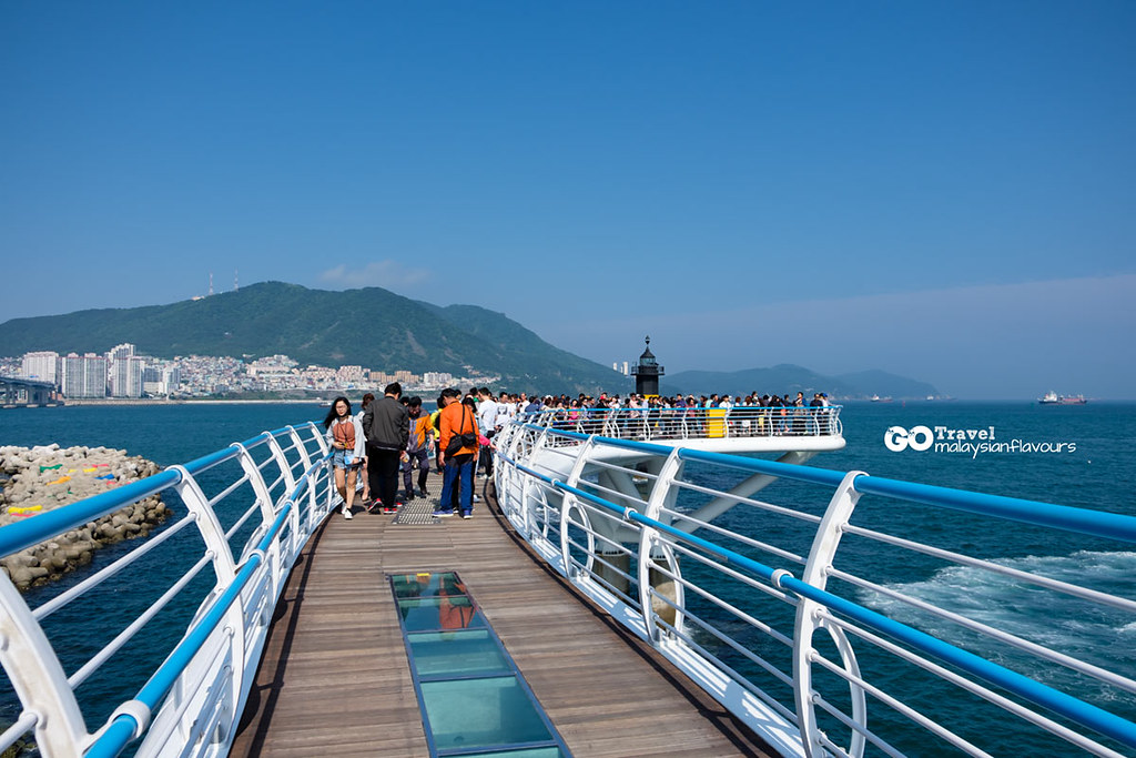 Busan Itinerary songdo skywalk