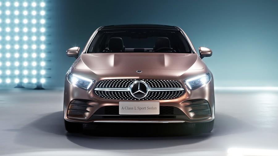 Mercedes A-Class L Sport Sedan 3