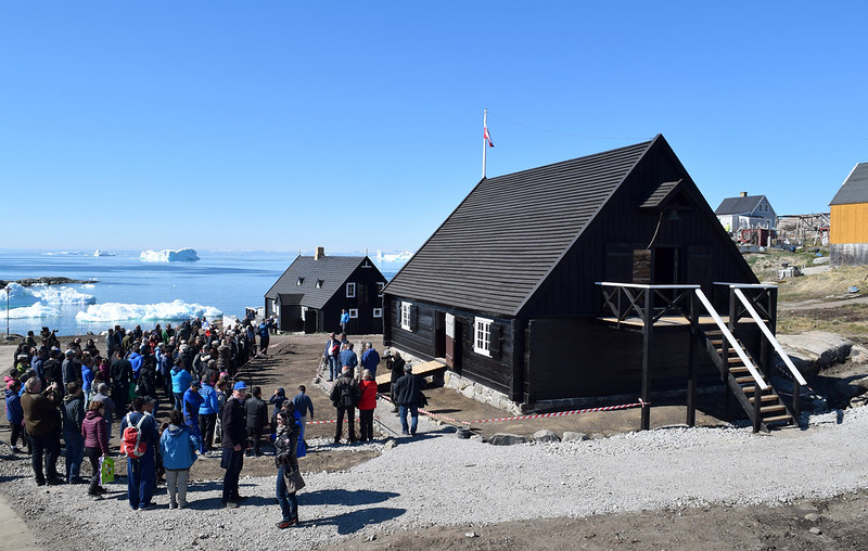 Poul Egede's Mission House, Ilimanaq, Greenland, DENMARK