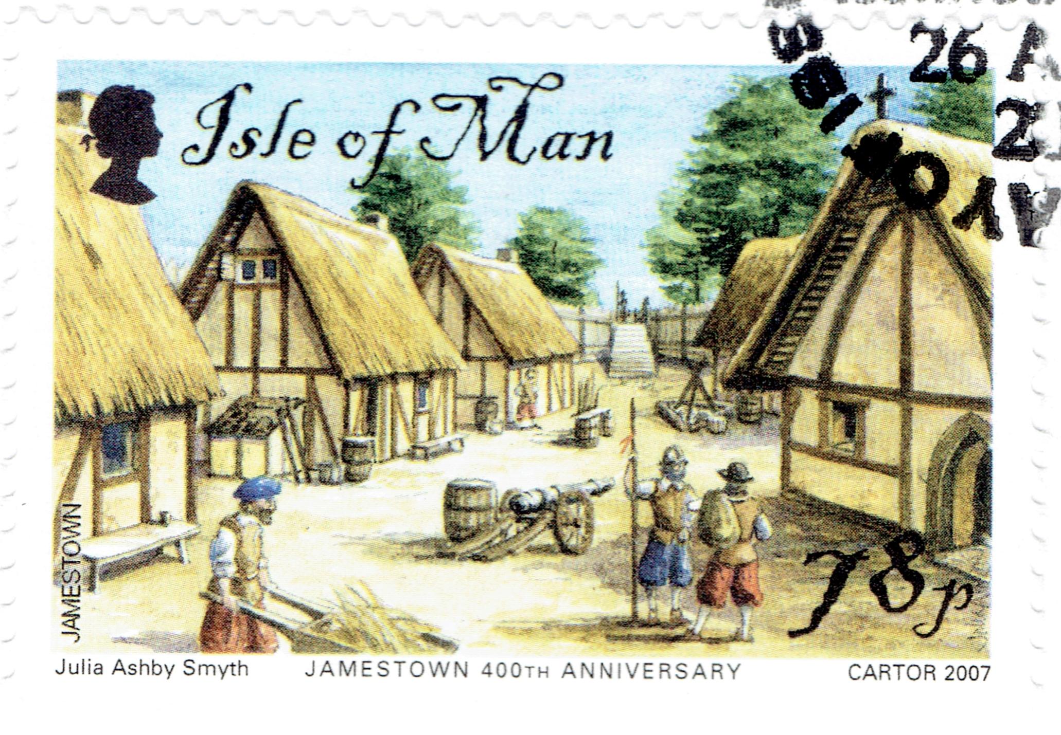 Isle of Man - Scott #1206 (2007)