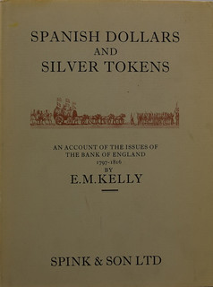 Spanish Silver Dollars and Tokens book cover