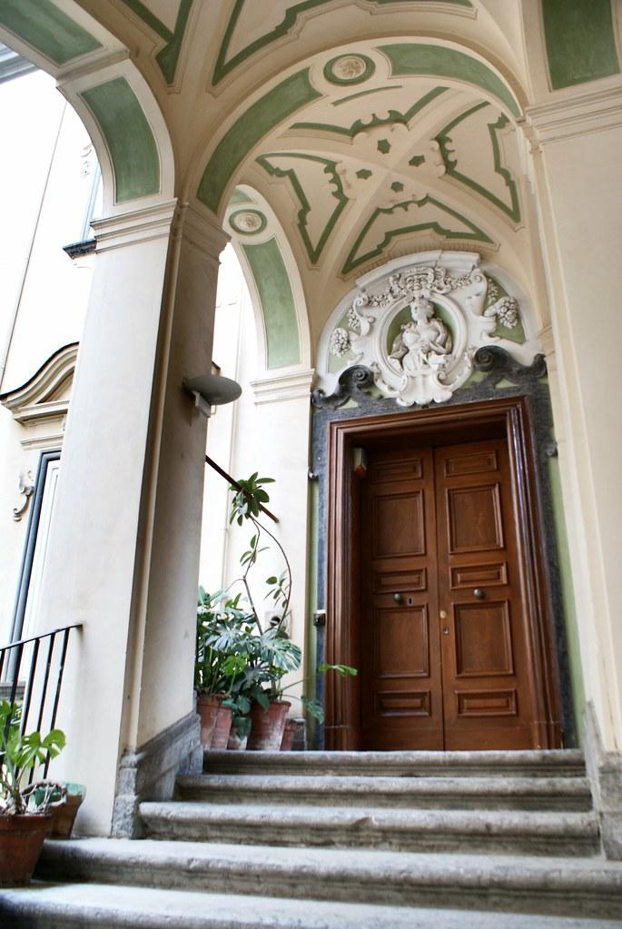 Palazzo dello Spagnolo dans la quartier de la Sanita à Naples