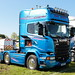 Ray White Scania R580 M19WTS Peterborough Truckfest 2018