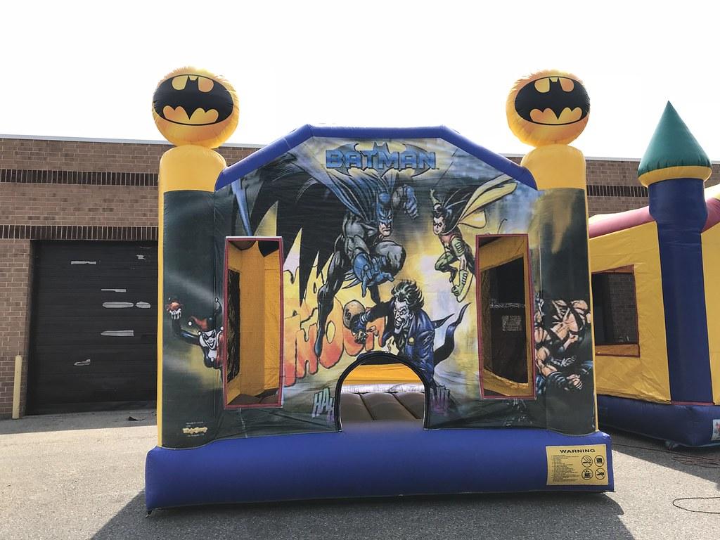 Batman Moonbounce
