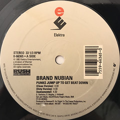 BRAND NUBIAN:PUNKS JUMP UP TO GET BEAT DOWN(LABEL SIDE-A)