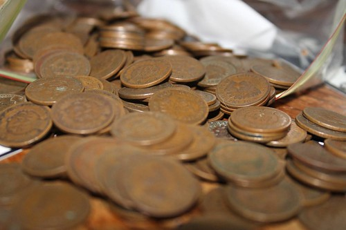 Indian Head cents collected by Dustin Morgan