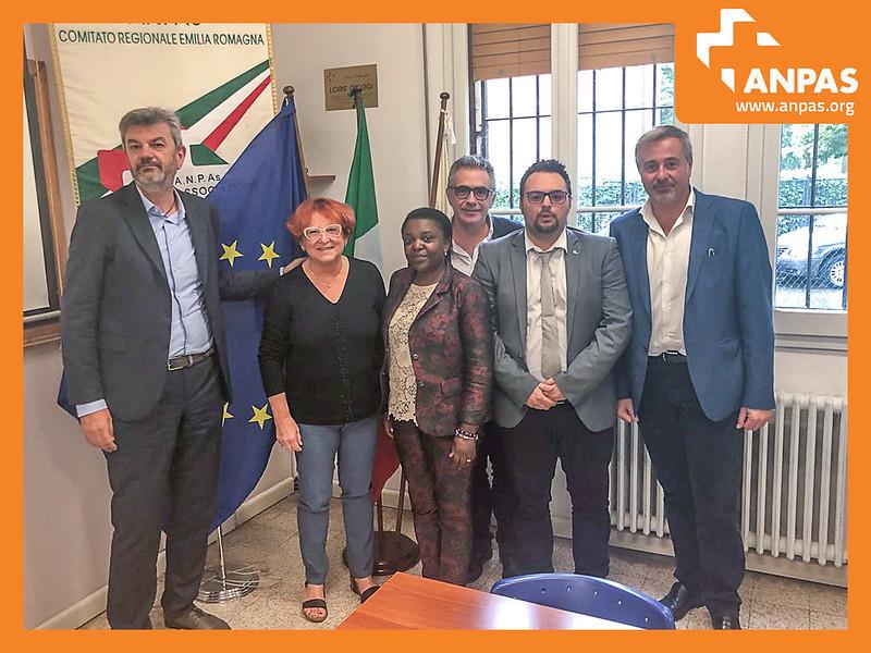 Un nuovo incontro di Anpas con i parlamentari europei