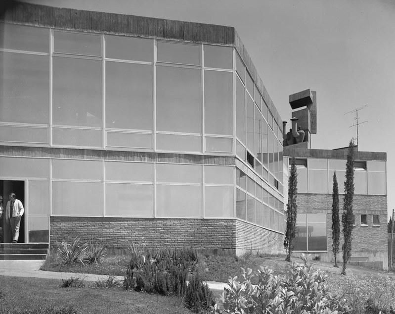Univeridad Laboral. Fotografía de Juan Miguel Pando Barrero © Fototeca del IPCE signatura PAN-B-027080_P