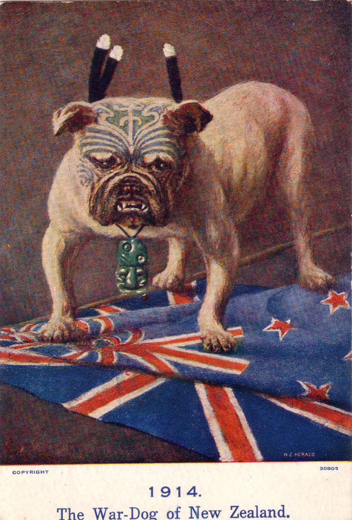 The War-Dog of New Zealand, 1914