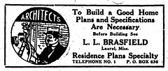 L.L.Brasfield, Archt. Advert