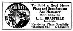 L.L.Brasfield, Archt. Advert