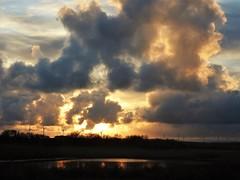 Smoke Stack Sunset - Cresswell
