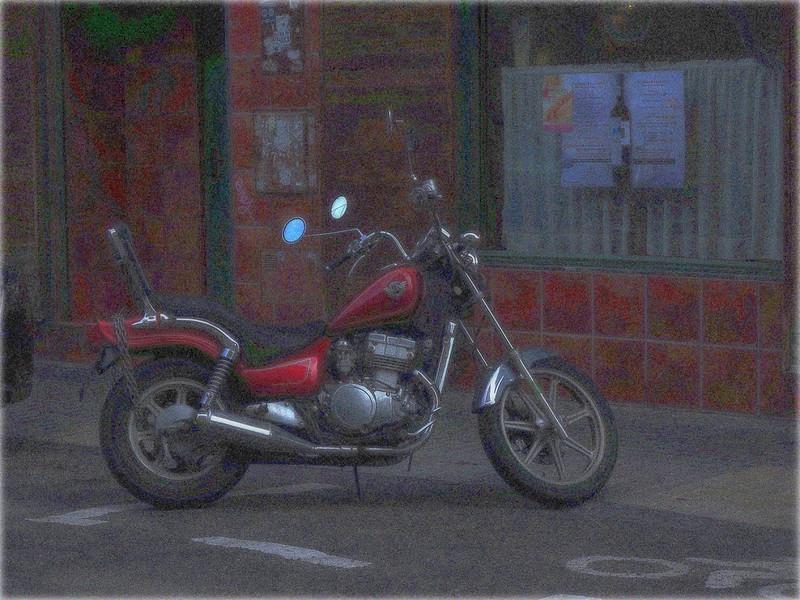 La que fue mi buena moto