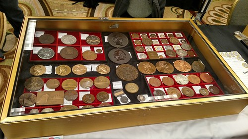 2018 April Chicago Coin Expo Numismagram table