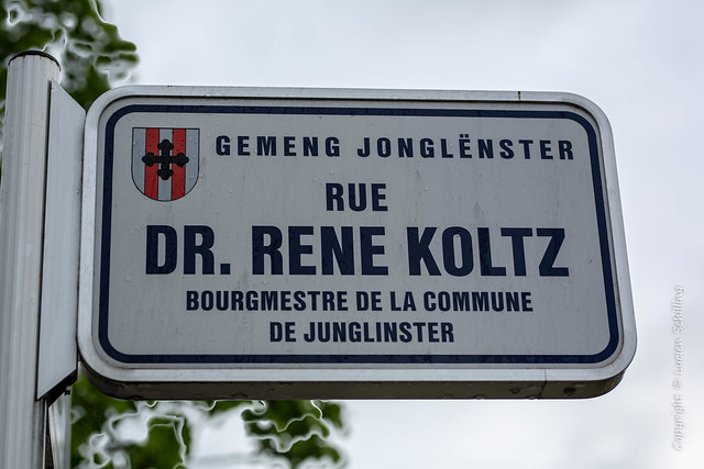 Street names.