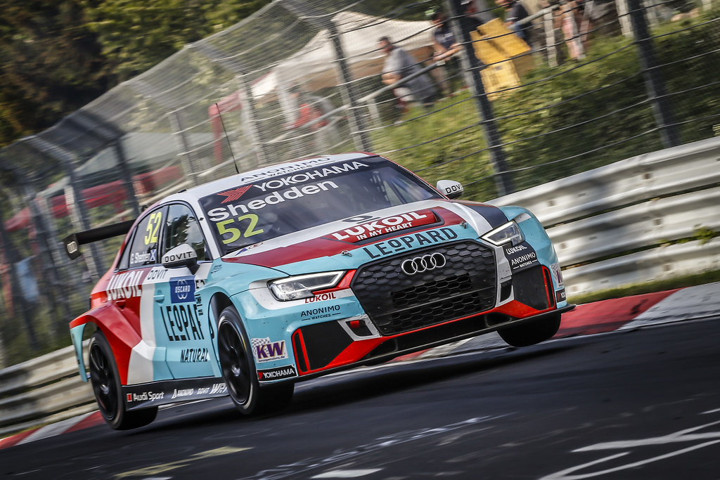 52 SHEDDEN Gordon (GBR), Audi Sport Leopard Lukoil Team, Audi RS3 LMS, action during the 2018 FIA WTCR World Touring Car cup of Nurburgring, Nordschleife, Germany from May 10 to 12 - Photo Francois Flamand / DPPI