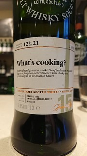SMWS 122.21 - What's cooking?