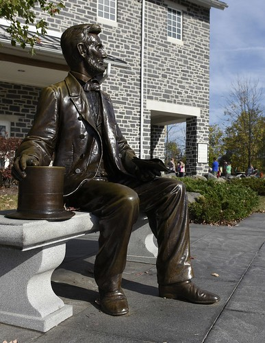 Gettysburg Foundation Lincoln Statue Outside Visitor Center. From More Than a Battlefield: Why Gettysburg Should be on Your Bucket List