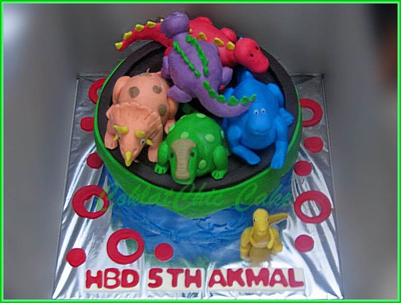 Cake Dinosaurus AKMAL 20 cm