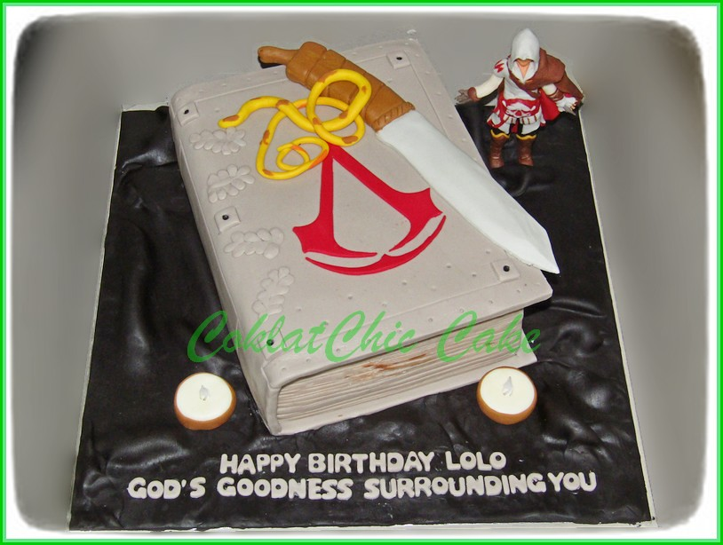 Cake Assasin Creed LOLO 15 cm