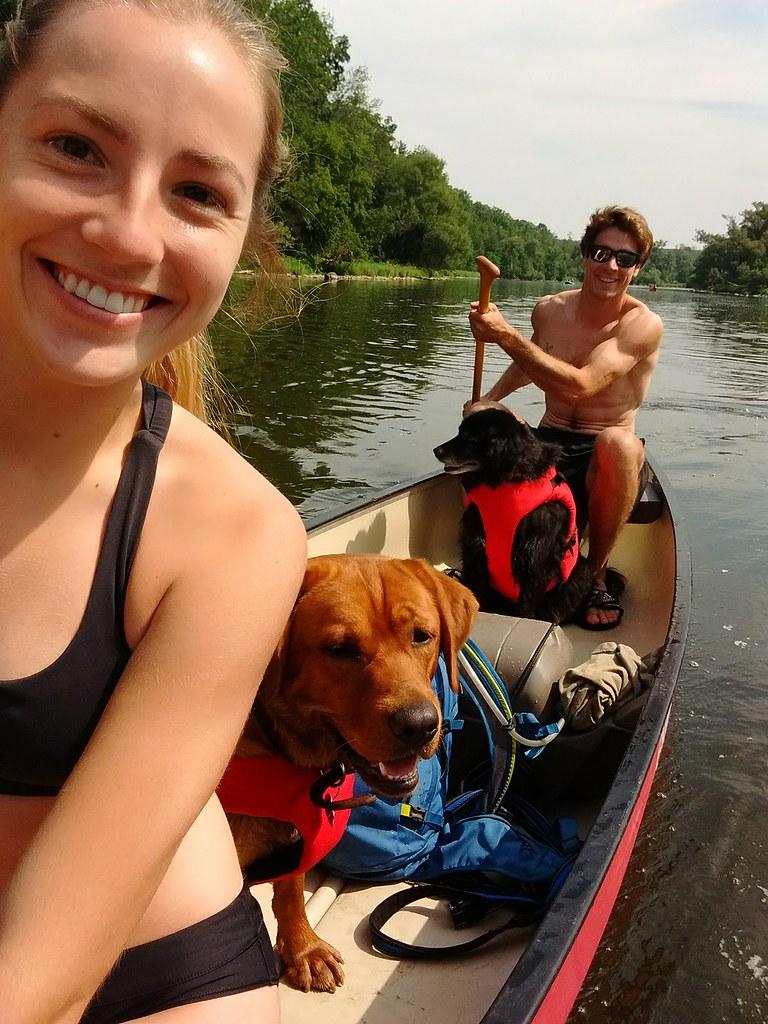Pet Selfie - Reuben & Charlie