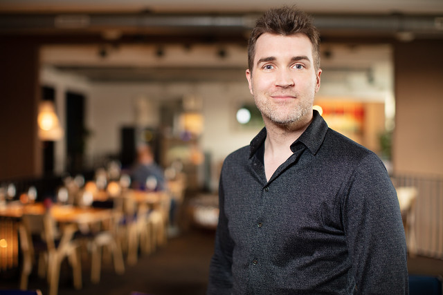 A.J. Finn (Daniel Mallory) at Natlab