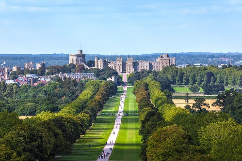 Windsor Castle. From Studying Abroad in London: 10 Places Not to Miss Like I Did! Part 2