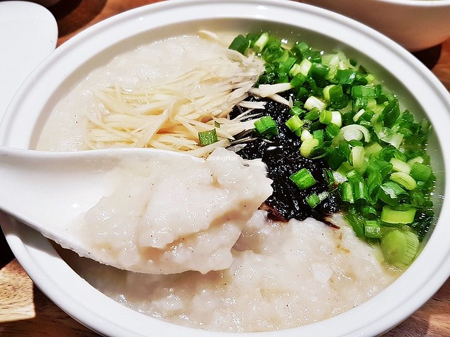Fish Porridge With Special Condiments