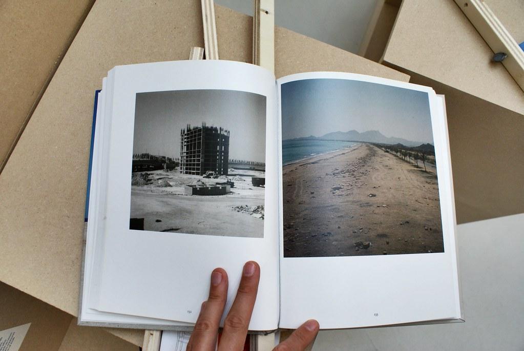 Livre sur Beyrouth dans le Musée d'art contemporain Maxxi à Rome.