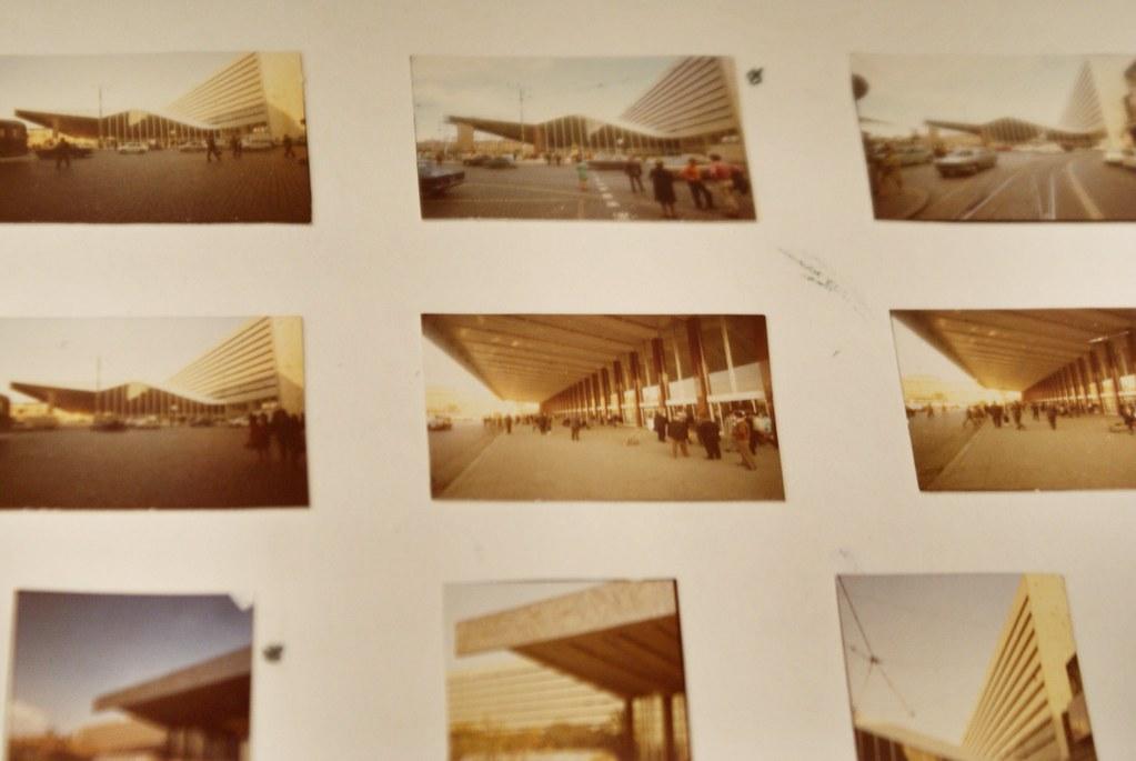 Vues de la gare centrale de Rome Termini à Rome. Photo de Musée d'art contemporain Maxxi à Rome.