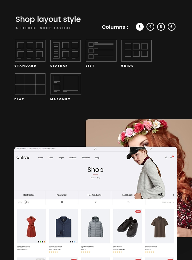 Antive - Minimal and Modern WooCommerce AJAX Theme (RTL Supported) - 3