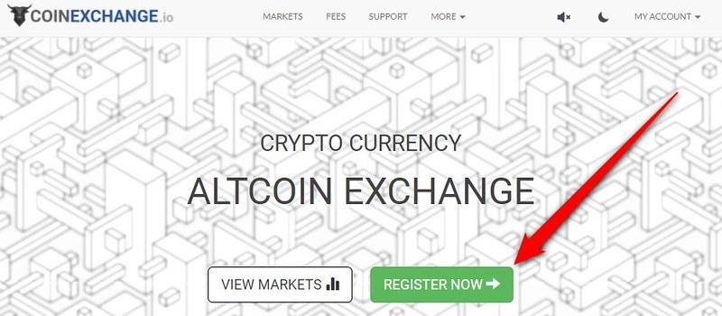 coinexchange 使い方 (1)