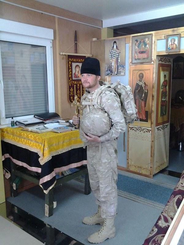 Отец Виталий, Хмеймим