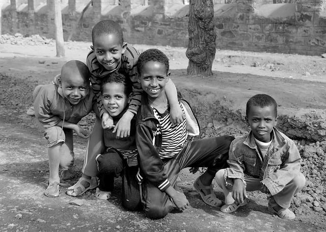 Черно-белая Африка