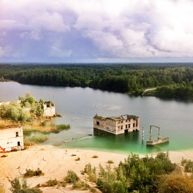 Cantera de Rummu, Estonia