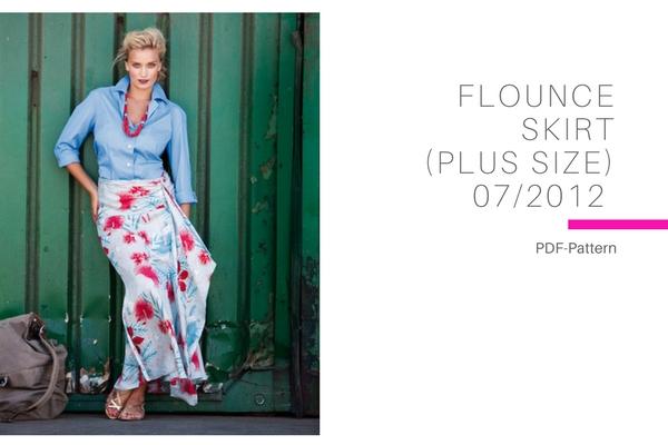 Flounce Skirt