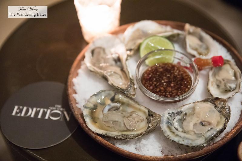 Half Dozen Oysters, Mignonette