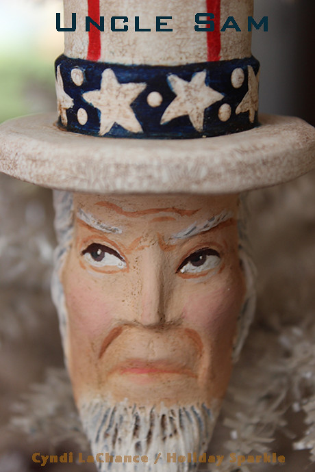 Uncle Sam close-up