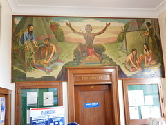 Sigourney Iowa Post Office Mural