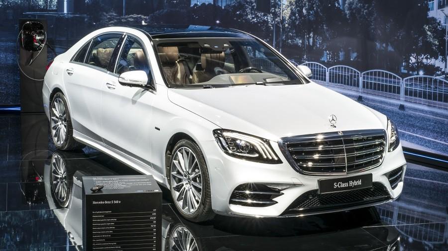 Mercedes S 560 e Stand