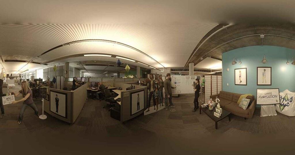 Foto de Conheça o Estúdio da Maxis por Realidade Virtual