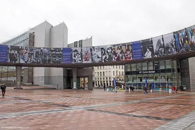 Agora Simone Veil, quartiere europeo di Bruxelles
