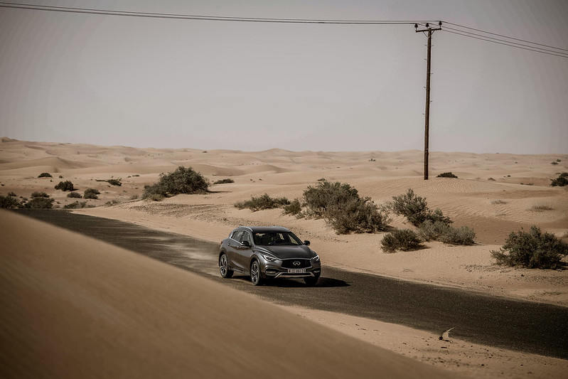 2018 Infiniti QX30 First Drive UAE carbonoctane 1