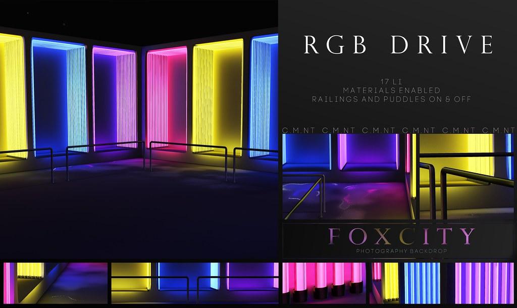 FOXCITY. Photo Booth – RGB Drive @ N21